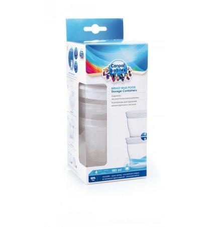 Canpol anyatej gyűjtő pohár 4 db/csomag