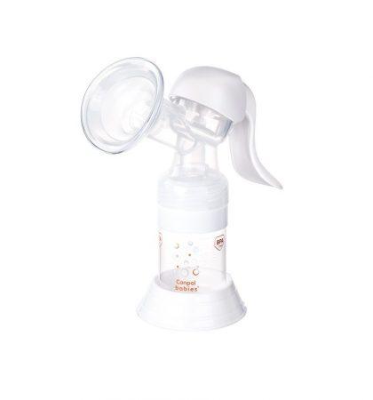 Canpol mellszívó kézi Basic     BPA mentes termék!  Karos mellszívó  Tárolózsákkal, a higiénikusabb tárolásért