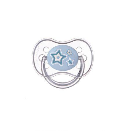 Canpol Nyugtató cumi Newborn - szilikon, kerek