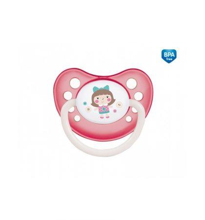 Canpol Toys Nyugtató cumi - Szilikon, fogszbályzós