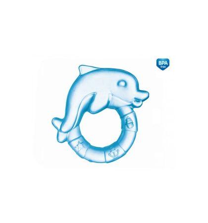 Canpol Vízzel töltött hűthető rágóka - Delfin