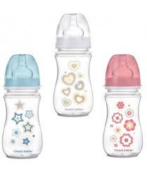 Canpol babies NEWBORN BABY széles szájú cumisüveg 240 ml,