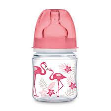 Canpol babies JUNGLE széles szájú üveg 120 ml, rózsaszín,kék