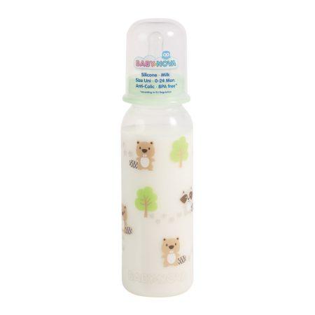 Baby Nova Dekorált cumisüveg 250ml.BPA free
