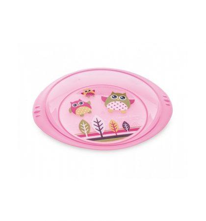 Canpol Műanyag tányérka - Baglyocskák