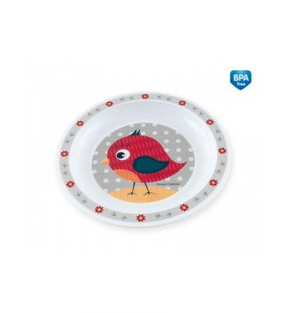 Canpol Műanyag tányérka - Állatkák