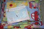BabyBruin Bébi ágynemű garnitúra, 3 részes pamut