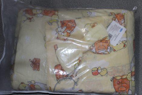 BabyBruin Bébi ágynemű garnitúra, 4 részes pamut