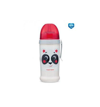 Canpol babies sport itatópohár nemkifolyó szívószállal 350 ml 12 hó+ Hello Little
