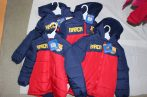FCB, FC Barcelona gyerek bélelt kabát