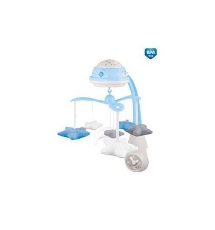 Canpol babies Elektromos zenélő körforgó vetítővel