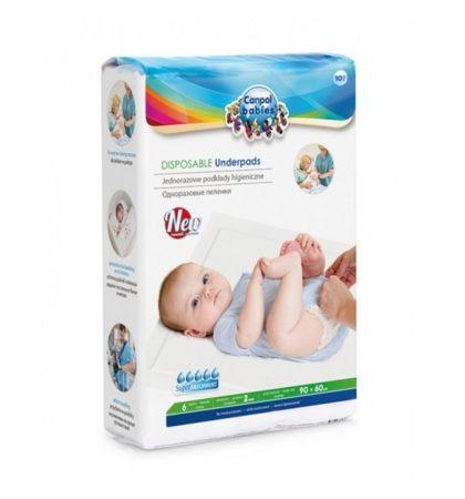 Canpol babies egyszeri használatos higiéniai alátét 90x60 cm - 10 db.