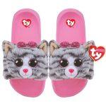 Ty Fashion papucs KIKI - szürke macska