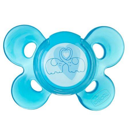 Chicco Physio Comfort 0-6 hó 6-16 hó szilikon cumi - kék