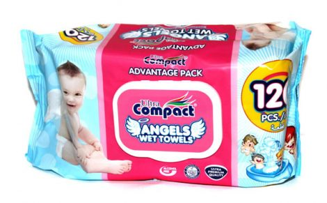 Ultra Compact Angyalka baba törlőkendő
