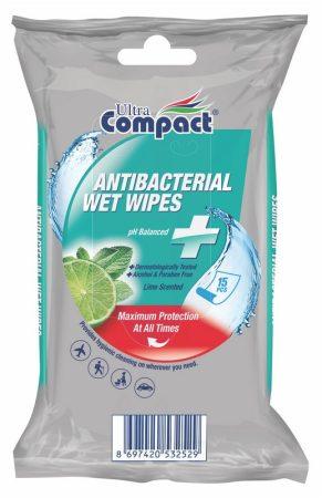 Ultra Compact antibakteriális tölrőkendő