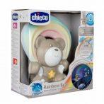 Rainbow Bear - Szivárvány maci zene-fény projektor elemes